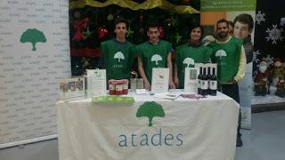 Rastrillo navideño de ATADES (del 25 al 29 de noviembre)