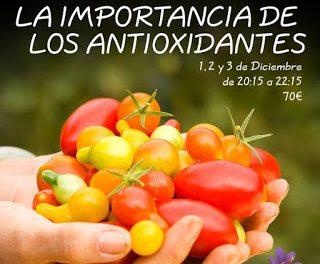 Curso de cocina La importancia de los antioxidantes en AZAFRÁN (de martes a jueves, del 1 al 3 de diciembre)