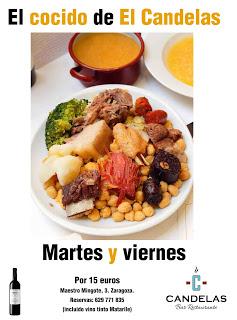 Cocido clásico en El Candelas (hasta final del invierno)