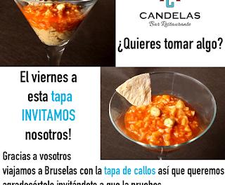 Tapa de callos gratis en El Candelas (viernes, 6)