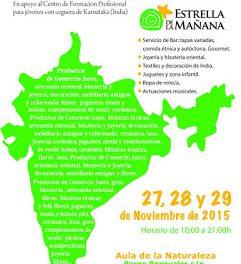 Feria solidaria (del 27 al 29)