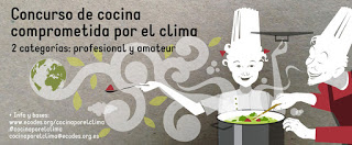 Concurso de cocina comprometida con el clima (hasta el 20 de diciembre)