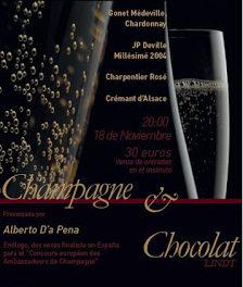 Cata de champagnes (miércoles, 18)