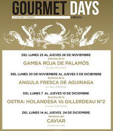 Gourmets Days en LOS CABEZUDOS y TRAGANTÚA, angula de Aguinaga (del lunes, 30, al jueves, 3)