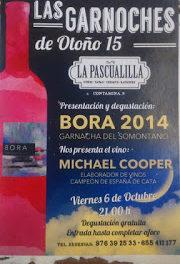 Presentación y degustación de vino en LA PASCUALILLA (viernes, 6)
