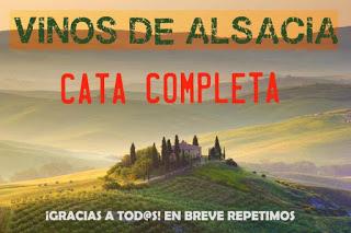 Cata de vinos de Alsacia (miércoles, 11)