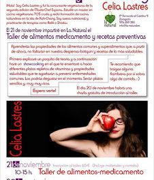 Taller de alimentos medicamento (sábado, 21)