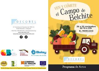 Ven y cómete el Campo de Belchite (del 26 al 29)