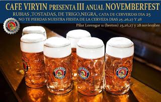 Festival de la cerveza (del 25 al 28)