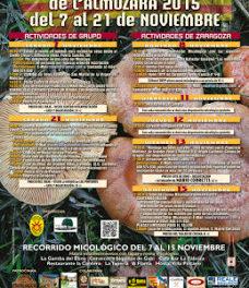Jornadas Micológicas L´Almozara (del 7 al 21 de noviembre)