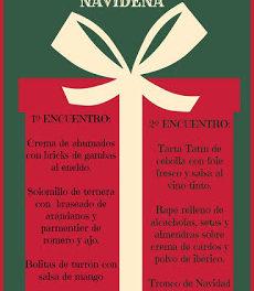 Encuentros de cocina navideña (25 de noviembre y 2 de diciembre)