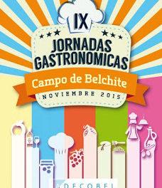 Jornadas gastronómicas Campo de Belchite (hasta el 29 de noviembre)