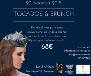 Tocados y brunch en LA ZAROLA (domingo, 20)
