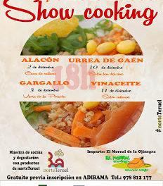 URREA DE GAÉN. Demostración de cocina (jueves, 10)