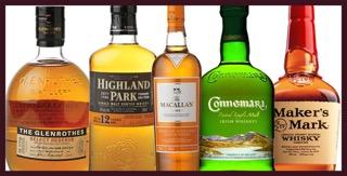 Cata de whiskies en TOMEVINOS PALAFOX (martes, 1)