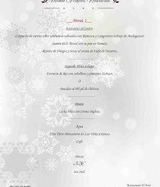 Menús de Navidad en EL FORO (hasta el 10 de enero)
