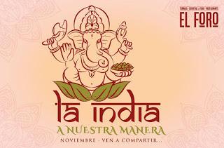 Jornadas de cocina india en EL FORO (diciembre)