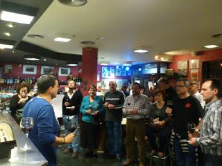 Cata coloquio Vinos para Navidad en el bar EL FÚTBOL (jueves, 17)