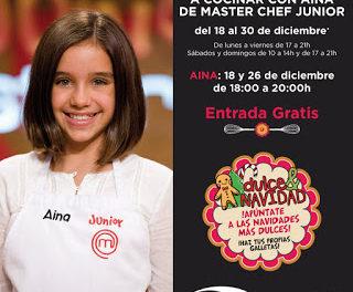 Cocina con Aína (viernes, 18, y sábado, 26)