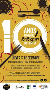EJEA DE LOS CABALLEROS. X años de Pon Aragón en tu mesa (jueves, 17)