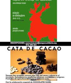 Cata de cacao (sábado, 12)