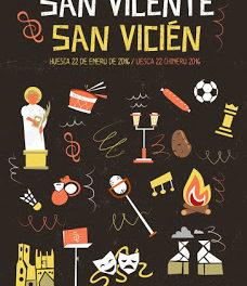 HUESCA. Hoguera de san Vicente y degustación (jueve, 21)