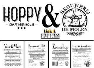 Degustación de cervezas holandesas (viernes, 15)