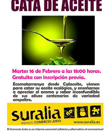 Cata de aceite ecológico (martes, 17)