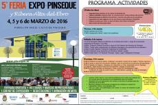 PINSEQUE. V Feria Expo Pinseque y Ribera Alta del Ebro (del 4 al 6 de marzo)