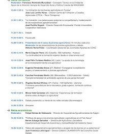 V Foro de desarrollo rural (del 15 al 17)