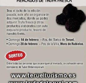 MORA DE RUBIELOS. Mercado de trufa (domingo, 28)