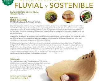HUESCA. Taller de gastronomía fluvial y sostenible (martes, 16)