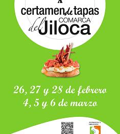 JILOCA. Concurso de tapas (del 25 al 28 de febrero y del 4 al 6 de marzo)