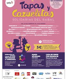 Punto solidario de la Muestra de tapas y cazuelitas solidarias del Rabal (sábado, 5)