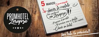 Descuentos en hoteles de Zaragoza y provincia (sábado, 5)