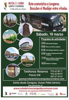 Excursión Ruta del vino Campo de Cariñena (sábado, 19 de marzo)