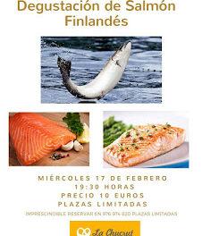 Degustación de salmón finlandés (miércoles, 17)