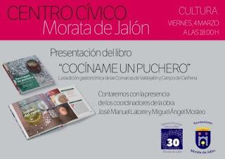 MORATA DE JALÓN. Presentación de libro (viernes, 4)