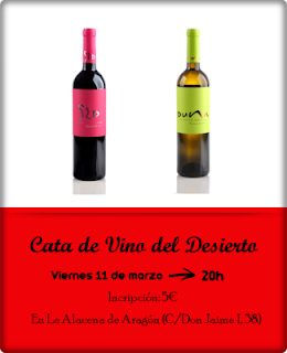 Cata de vino (viernes, 11)