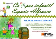 Campus infantil de Semana Santa (del 28 de marzo al 1 de abril)