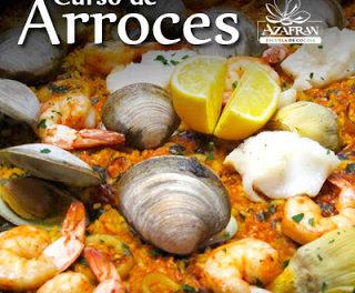 Curso de cocina Arroces en AZAFRÁN (de martes a jueves, del 5 al 7 de abril)