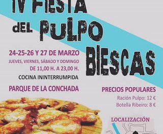 BIESCAS. Fiesta del pulpo (hasta el domingo, 27)