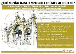 Jornadas sobre el Mercado Central (días 17 y 18)