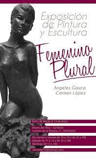 CARIÑENA. Exposición Femenino plural (del 13 de marzo al 14 de mayo)