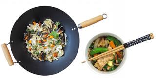 Taller cocina thai, el uso del wok (lunes, 7)