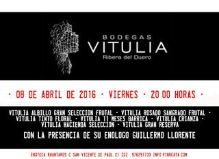Cata de vinos de Ribera (viernes, 8)