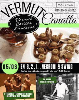 Vermut canalla en MARENGO (sábado, 5)