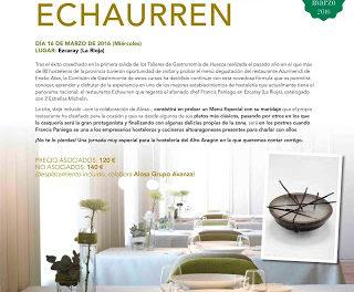 Comida en Echaurren (miércoles, 16)