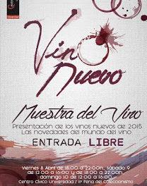 Muestra del Vino nuevo (del 8 al 10 de abril)