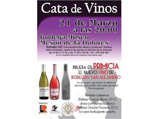 CALATAYUD. Presentación de vino (lunes, 21)